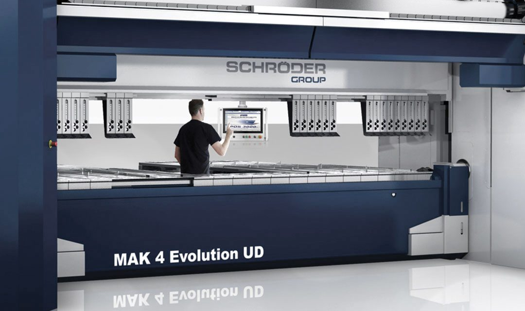 schroeder mak4 evo sheet metal folding machine