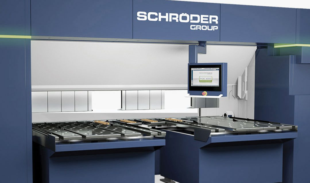 schroeder powerbend industrial metal folding machine