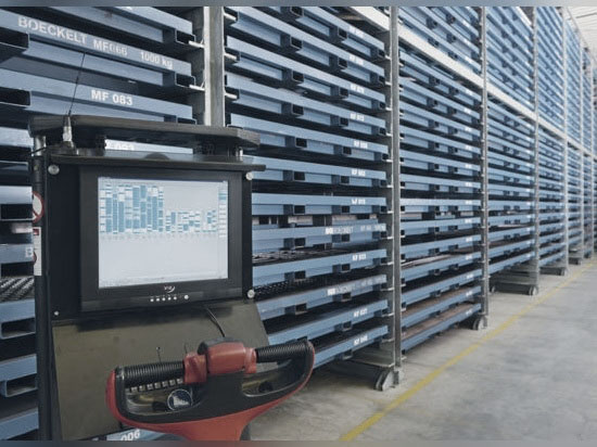 boekelt smart sheet metal storage tower