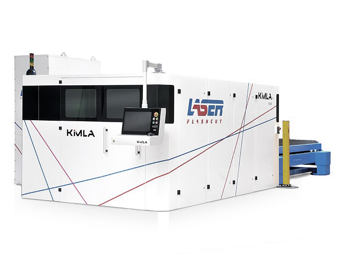 kimla fibre laser power cutting machine