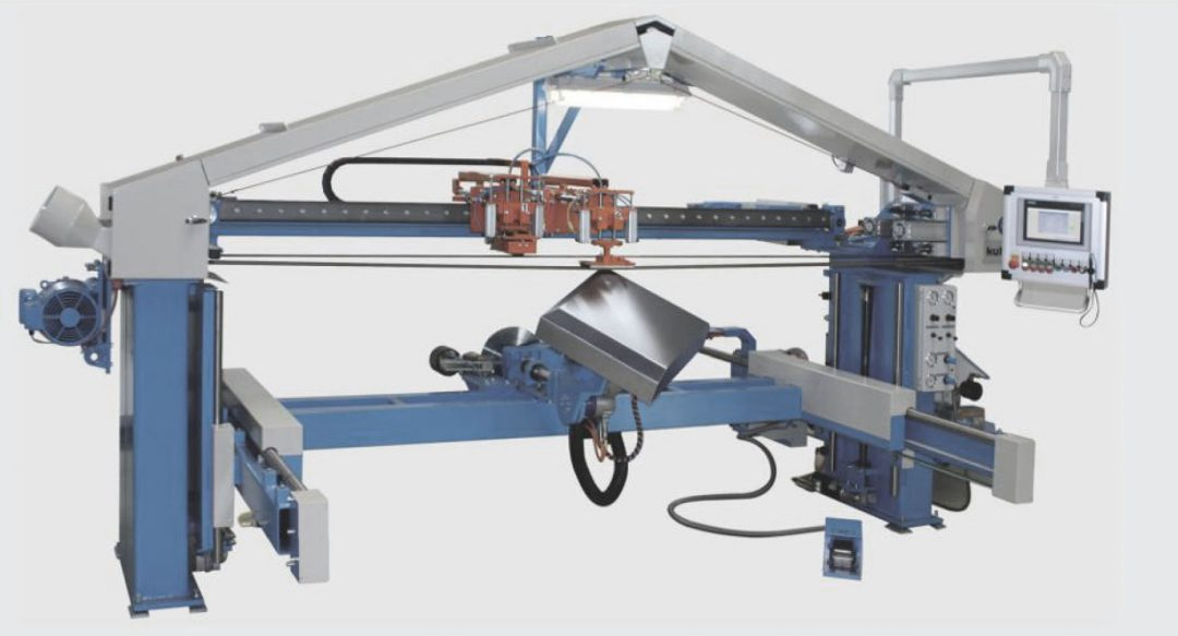 kuhlmeyer twin belt sanding machine
