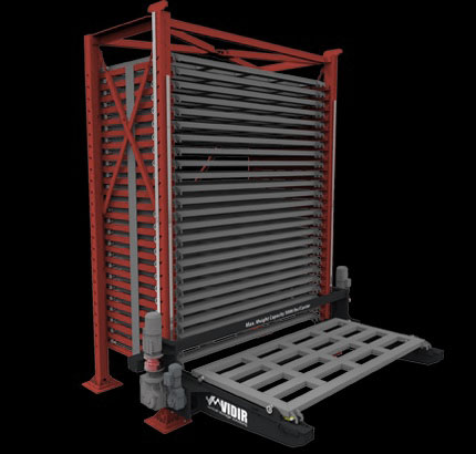 Vidir vertical sheet metal rack system