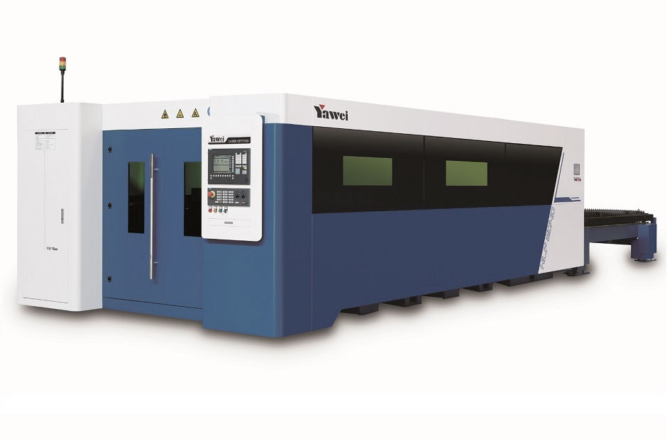 yawei hlf fibre laser cutting machine