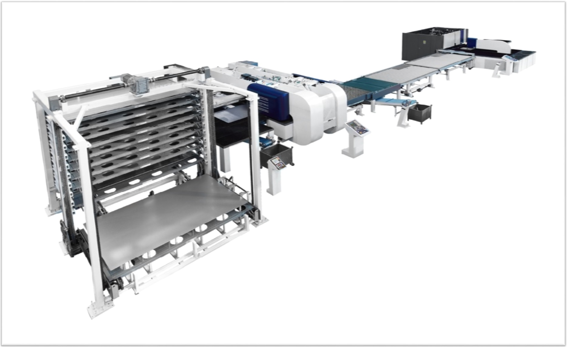danobat BM and Cupra machines in flexible production line