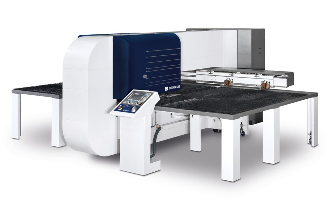 danobat iron cnc punching machine
